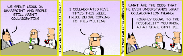 Dilbert-and-team-discuss-collaboration