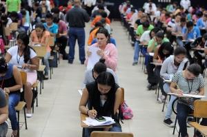 UNAN-Managua, examen de admision para el ano lectivo 2015
